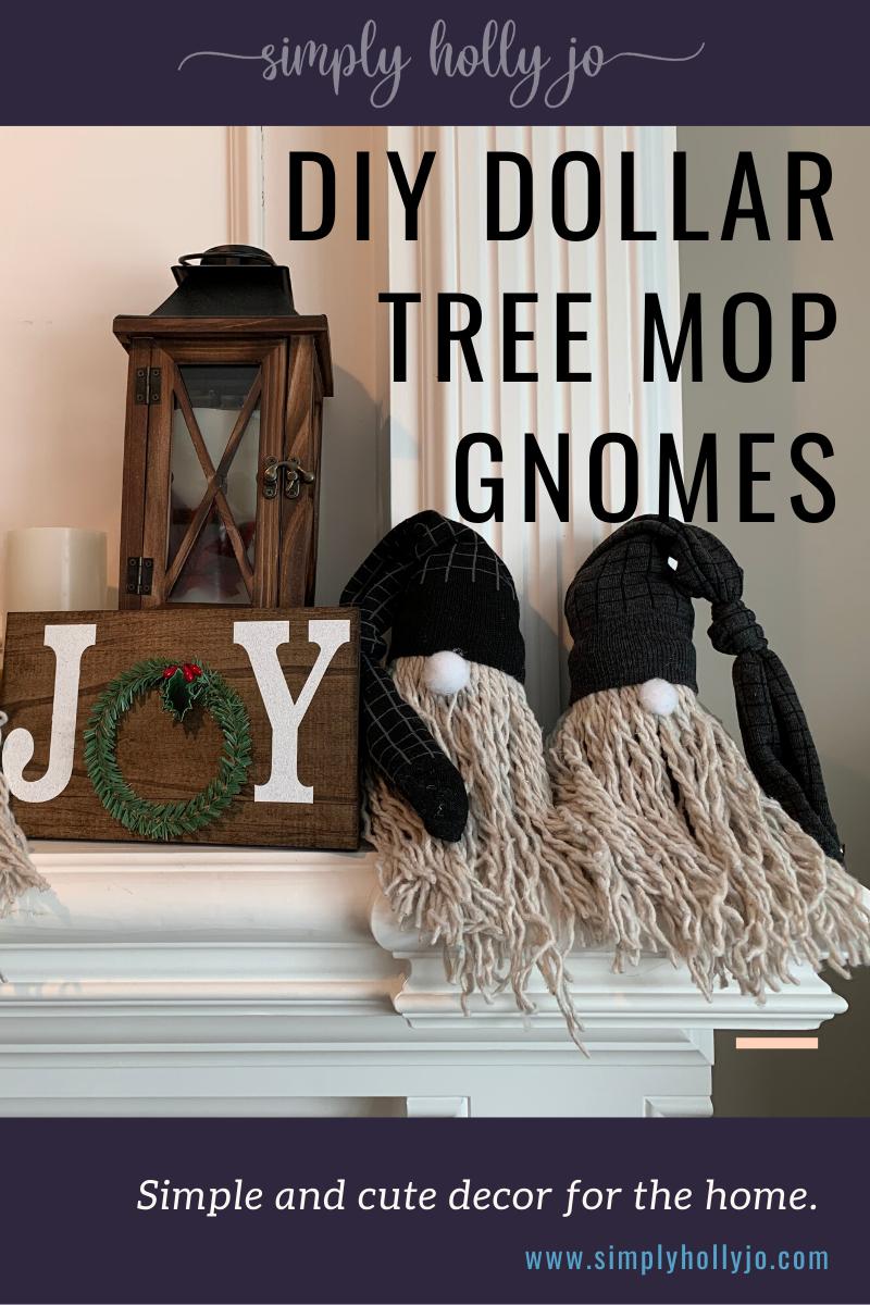 Diy Dollar Tree Gnomes Holiday Crafts Simply Holly Jo